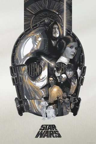 Star Wars: The Fourth Limited Edition Art Print