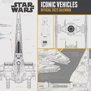 Star Wars Vehicles: Square 2022 Calendar