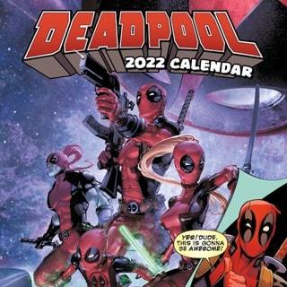 Deadpool: Marvel Square 2022 Calendar