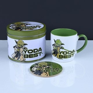 Yoda Best: Star Wars Mug Gift Set in Tin
