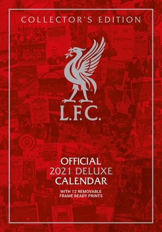 Liverpool FC: Football Deluxe 2021 Calendar