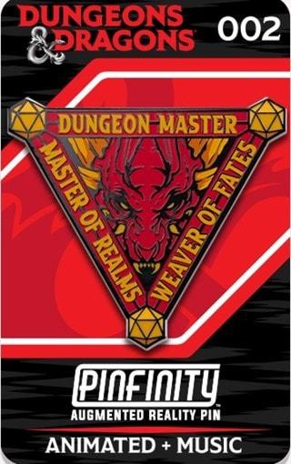 Dungeon Master: Dungeons & Dragons Pinfinity Pin Badge