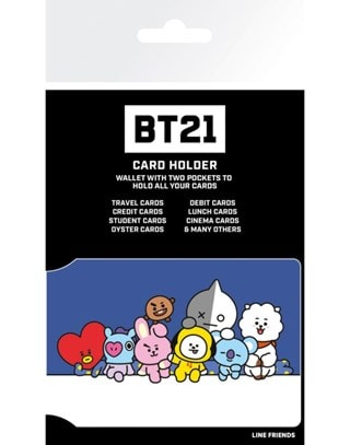 Card Holder BT21: Characters Stack
