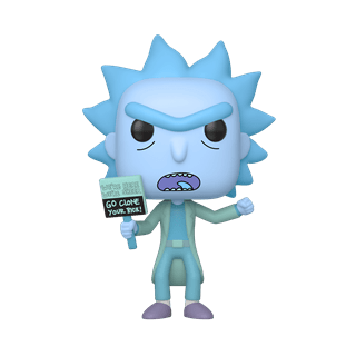 Hologram Rick Clone (659) Rick & Morty Pop Vinyl
