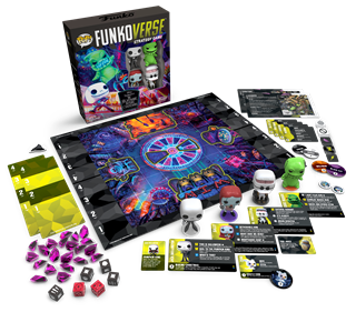 Funkoverse: The Nightmare Before Christmas Strategy Game (4 Pack)