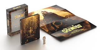 The Goonies Titans of Cult Limited Edition 4K Ultra HD Blu-ray Steelbook