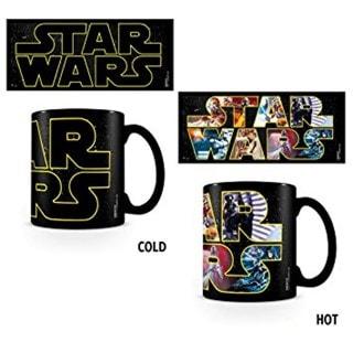 Star Wars Logo Characters Mug