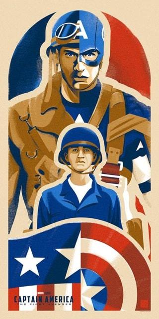 Kid From Brooklyn Captain America Danny Haas Print