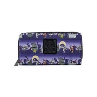 Nightmare Before Christmas: Halloween Zip Around Loungefly Wallet
