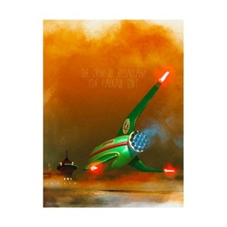 Futurama: Planet Express Delivery Limited Edition Art Print