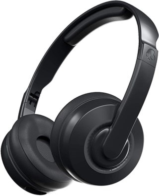 Skullcandy Cassette Black Bluetooth Headphones
