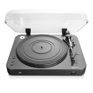 Lenco L-85 Black USB Turntable