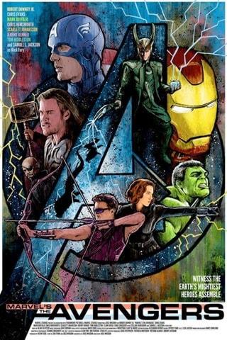 We'll Avenge It Avengers J.J Lendl Marvel Art Print