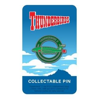 Thunderbird 2 Pin Badge