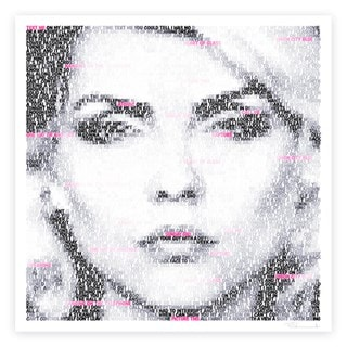Debbie Harry: Text Me: Limited Edition Fine Art Print By Mike Edwards