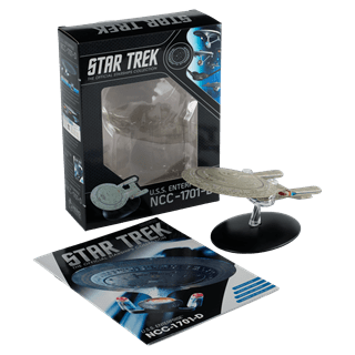 Star Trek USS Enterprise NCC-1701-D: Next Generation: Hero Collector