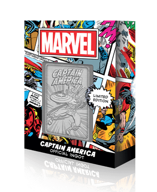 Captain America: Marvel Limited Edition Ingot Collectible
