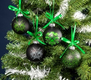 Xbox Glass Christmas Ornaments