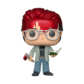 Stephen King (44) with Axe and Book (hmv Exclusive) Pop Vinyl