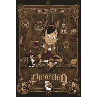 Pinocchio Limited Edition Art Print