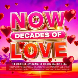 Now Decades of Love