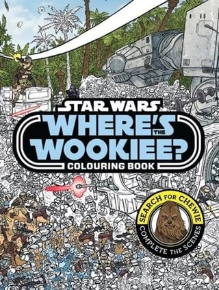 Star Wars Where's Wookiee Colouring Book