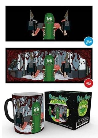 Rick & Morty Pickle Rick Heat Change Mug