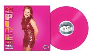 Spice: 25th Anniversary - 'Ginger' Rose Coloured Vinyl