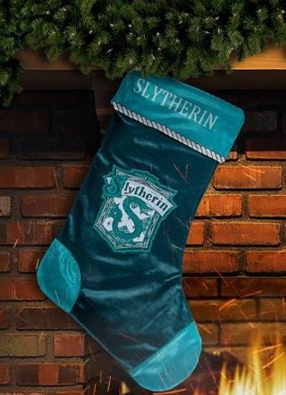 Slytherin House Stocking: Harry Potter Christmas Stocking