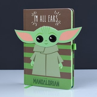 The Mandalorian: I'm All Ears (Green) Premium A5 Notebook