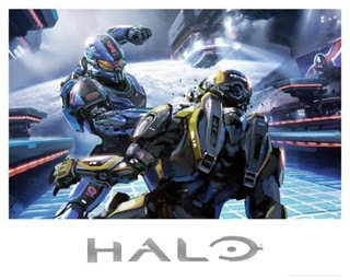 Halo: Title Bout Lithograph Limited Edition Art Print