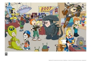 American Dad & Family Guy Comic-Con 2007: Limited Edition Giclee Print