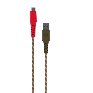 Skullcandy Braided USB-C Standard Issue (Camo) Cable 1.2m