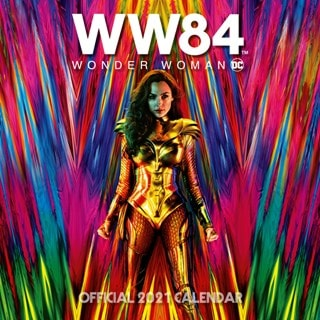 Wonder Woman: Square 2021 Calendar