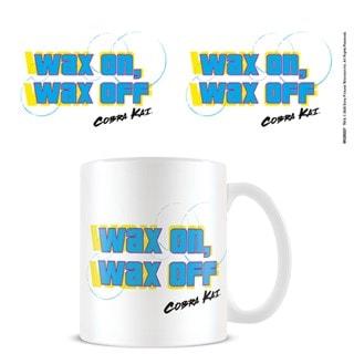 Cobra Kai Wax On Wax Off Mug (hmv Exclusive)