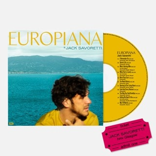 Jack Savoretti - Europiana - CD & hmv Glasgow Event Entry