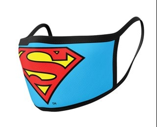 Superman: Logo Face Covering (2 pack)