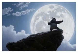 Kung Fu Panda: Moonlight Warrior Giclee Limited Edition Art Print