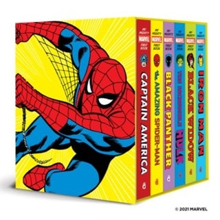 My Mighty Marvel First Book Collection (A Mighty Marvel First Book)