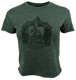 Harry Potter: Slytherin Ladies Cropped Tee