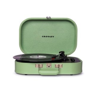 Crosley Discovery Seafoam Green Turntable