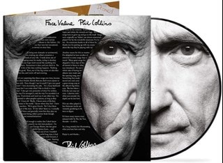 Face Value - Limited Edition Picture Disc