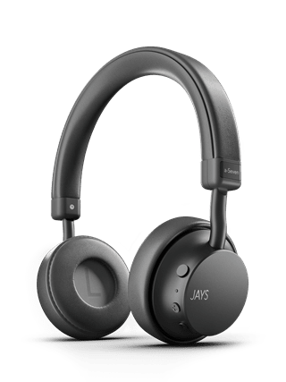 Jays A-Seven Grey Bluetooth Headphones
