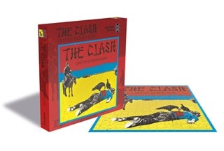 The Clash: Give 'Em Enough Rope: 500 Piece Jigsaw Puzzle