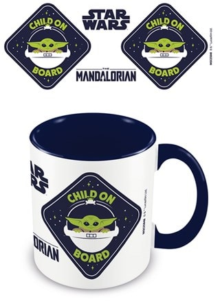 The Mandalorian: Child On Board Mug