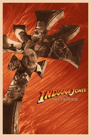 Indiana Jones: Don't Call Me Junior Devin Schoeffler Limited Edition Lithograph Print