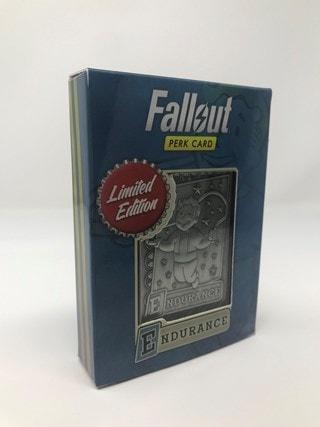 Fallout: Endurance Metal Perk Card