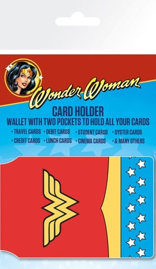 DC Comics: Wonder Woman Costume Card Holder