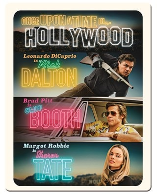 Once Upon a Time In... Hollywood (hmv Exclusive) 4K Ultra HD Steelbook