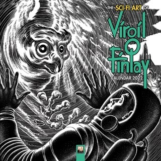 The Sci-Fi Art of Virgil Finlay Square 2022 Calendar